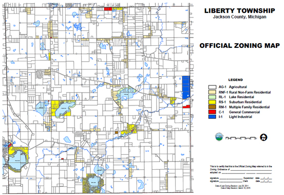 Planning & Zoning Liberty Township Jackson County MI